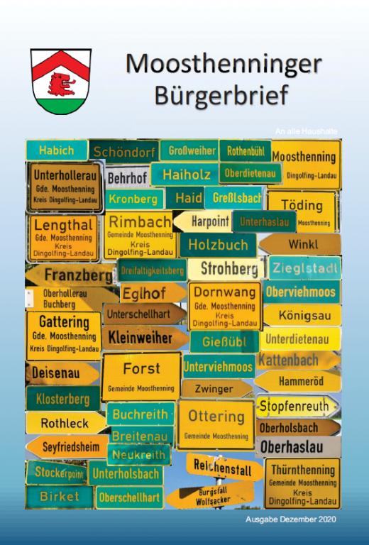 Bürgerbrief 2020